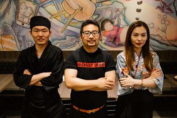Monkey Sushi Staff